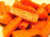 Recipe Zesty sunshine carrots with basil