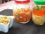 Recipe Papaya kimchi, papaya atchar, thai papaya salad