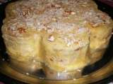 Recipe Rich tea biscuit cake witth almond