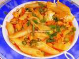 Recipe Rm#2 : day 22 indian style penne pasta