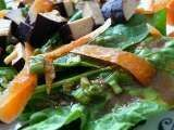Recipe Marinated Tofu Spinach Salad