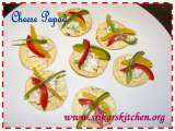 Recipe Cheese papad