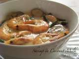 Recipe Shrimp in coconut milk (hipon sa gata)