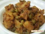 Recipe Potato peas masal curry