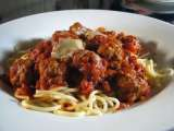 Recipe Meatballs in tomato sauce