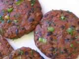 Recipe Soyrizo & black bean burgers