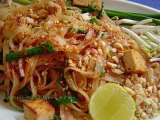 Recipe Vegetarian pad thai