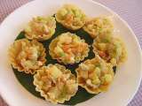 Recipe Krathong thong (patty shells with minced chicken)