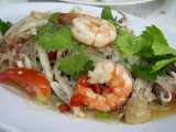 Recipe #100 - thai vermicelli salad (yum wun sen)
