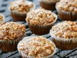 Recipe Banana nutella muffins with streusel topping
