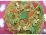 Recipe Brown rice sambar sadam(brown rice, pegion pea in vegetable stew)