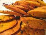Recipe Low fat baked methi muthia [fenugreek crackers] and award time