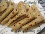 Recipe Super healthy multigrain roti / chapati (indian flat bread)