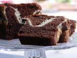 Recipe Chocolate cream cheese loaf cake