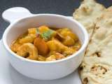 Recipe Shrimp vegetable mango curry