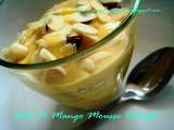 Recipe Oats n mango mousse delight