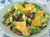 Recipe Broccoli and orange salad