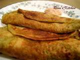 Recipe Healthy moong dal dosa [mung beans crepe]