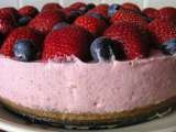 Recipe Strawberry yoghurt mousse cake