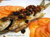 Recipe Pan fried threadfin salmon with salted black beans