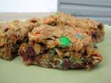 Recipe M&m-chocolate chip oatmeal bars