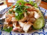 Recipe Fried garlic squids(pla muk tod kra-tium prik thai)