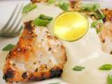 Recipe Celebrate father?s day with grilled fish in creamy sauce