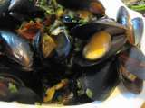 Recipe Mussels the asian way