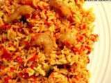 Recipe Prawn pulao/ prawn biryani (shrimp in indian spicy rice)