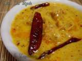 Recipe Gatta nu shaak / kadhi (gram-flour dumplings in yogurt sauce)