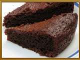 Recipe Eggless chocolate cake with condensed milk