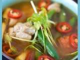 Recipe Tom yum gai - a delightful thai chicken soup