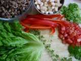 Recipe Wild rice lettuce wraps