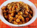 Recipe Green chole with coconut milk