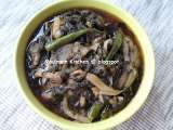 Recipe Fried roselle leaves (chin baung kyaw)