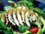Recipe Smoked chicken salad with a south african twist