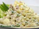 Recipe Veg russian salad recipe