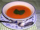 Recipe Spiced summer pumpkin, butternut squash & red bell peppers soup