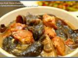 Recipe Stewed hakka fried pork belly with black fungus recipe