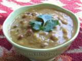 Recipe Black chickpea sprouts korma ? oil free