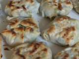 Recipe Our cooking project #3: prawn, pork and garlic chive dumplings