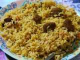 Recipe Healthy vegetarian biryani (soya chunks biryani)