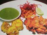 Recipe Tandoori fish tikka & tandoori chicken tikka