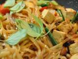 Great thai dish: pad kee mao ? spicy thai drunken noodle recipe with tofu