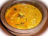 Recipe Kerala fish curry / meen curry ( with coconut paste )