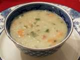 Recipe Milk vegetable soup