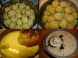 Recipe Paruppu urundai mor kuzhambu (steamed lentil balls in yogurt gravy)