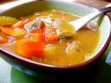 Recipe Ginger coconut vegetable soup