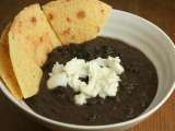 Recipe Oaxacan black bean soup