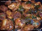 Recipe Kariveppila chicken (chicken with curry leaves)